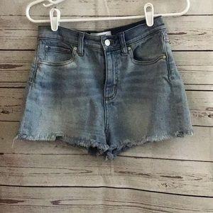 Pink Victoria Secret Jean Cut Off Shorts